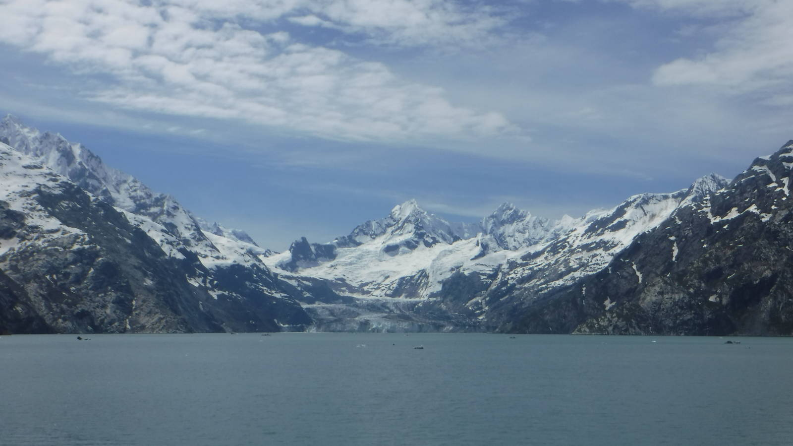 my trip to glacier bay