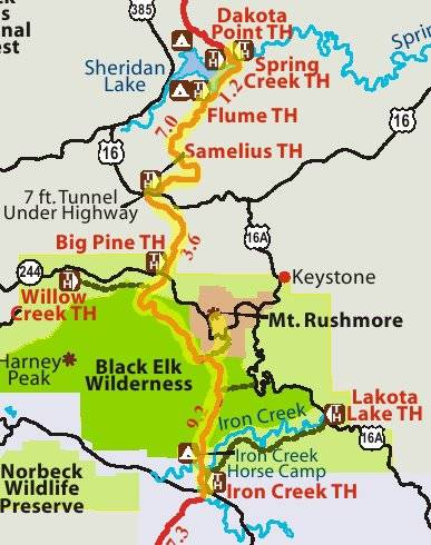 A Hike Of The Centennial Trail From Iron Creek To